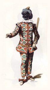 masks - harlequin