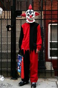 masks - evil clown