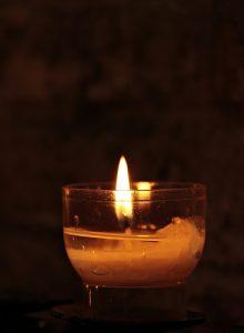 spiritual junk - tealight
