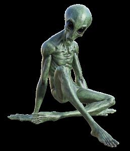 hierarchies - alien breakdancer